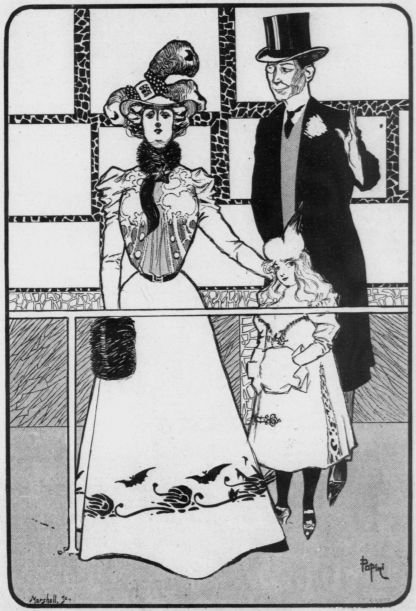 Illustration from Judy: or, The London Serio-Comic Journal (1899).