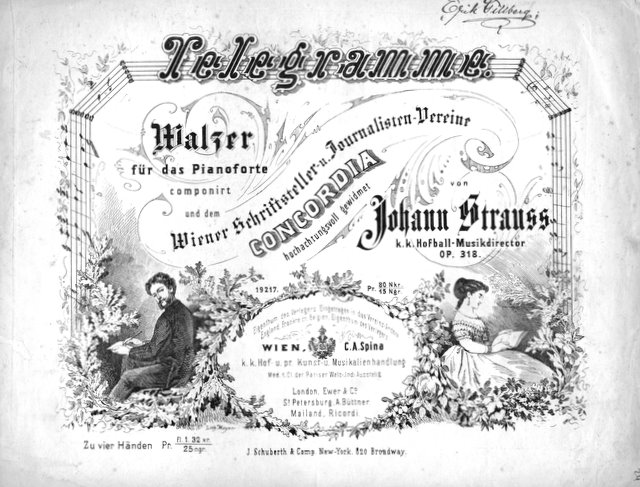 Telegramme, Strauss