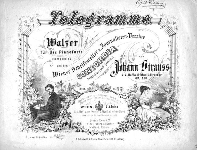 Telegramme, Strauss