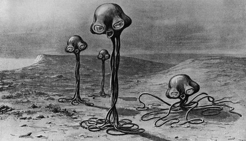 essays on the war of the worlds by hg wells H g wells' science fiction masterpiece the war of the worlds was originally published in pierson's magazine in 1897 and was issued as a novel the following year.