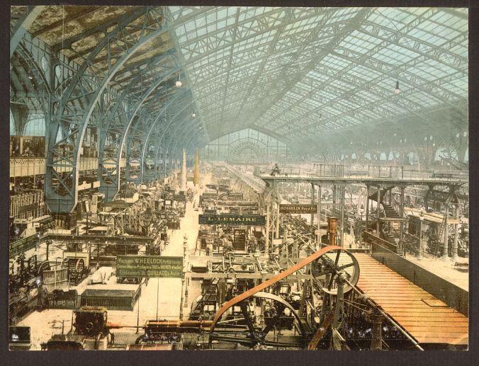 Machinery Gallery, 1889
