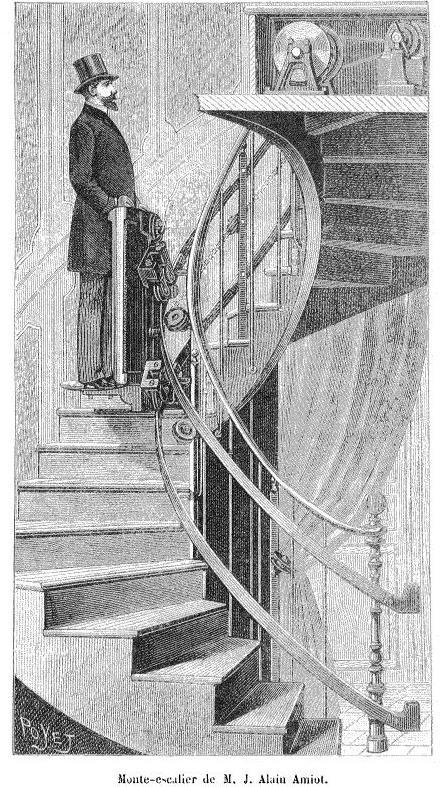 Monte-escalier de M J Alain Amiot