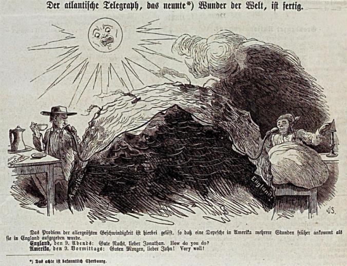 Transatlantic telegraph
