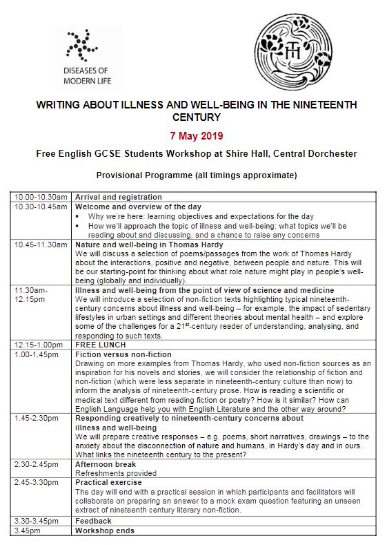 Event Free Workshop For GCSE English Language Students